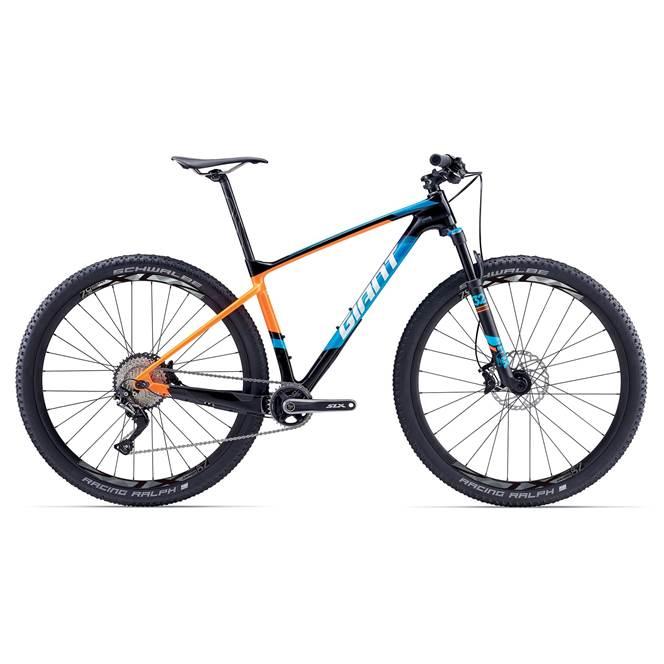 2017 Giant XTC Advanced 29er 2 Carbon Hardtail Mountain Bike £1,959.20