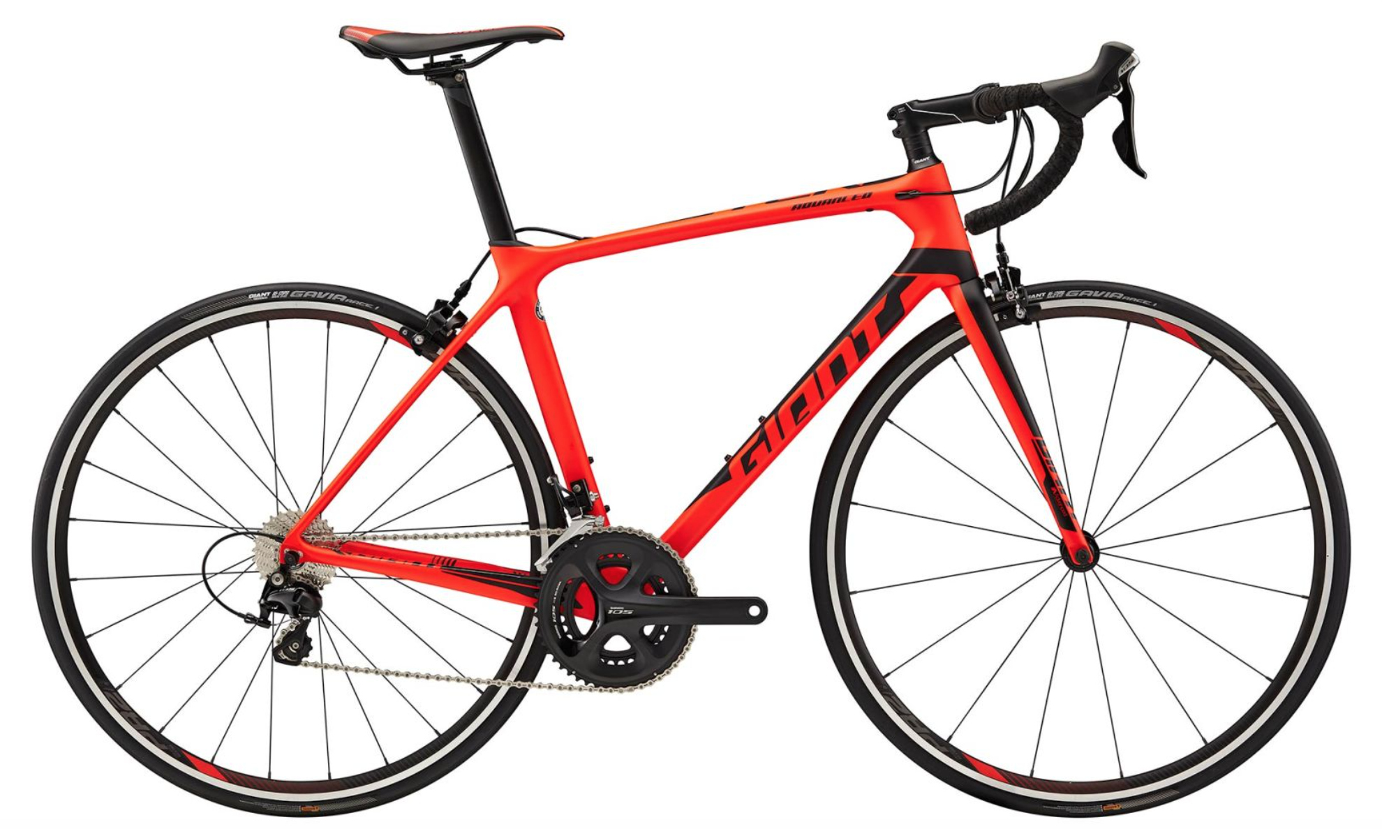 2018 Giant TCR Advanced 2 Carbon Road Bike Red £1,159 20